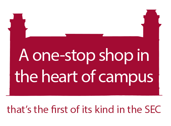 A one-stop shop in the heart of campus that's the first of its kind in the SEC